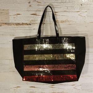 2017 Victoria's Secret sequin tote bag